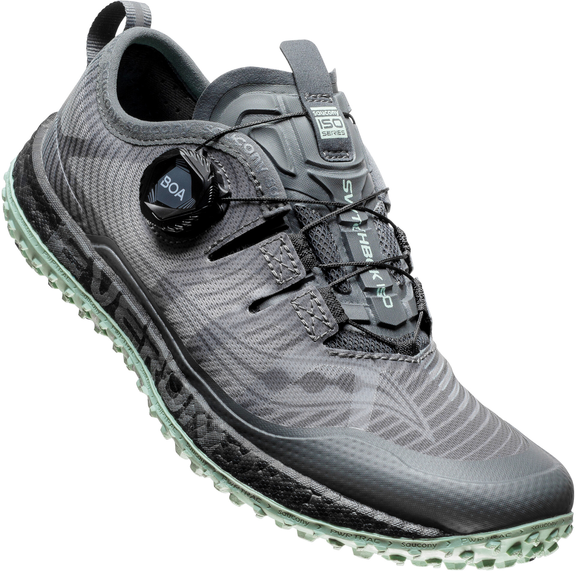 saucony Switchback ISO Shoes Women grey